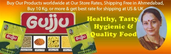 Gujju's sharbat, pickles, garam masala, sweets, mukhwas,sweets,snacks available for online purchase at best buy from india