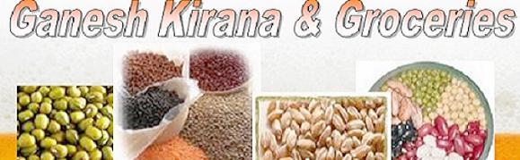 Ganesh's kirana Groceries Store, buy grains,pulses,peas,beans,dal,anaj available online shopping at best buy from india